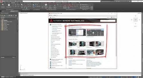 Tutorial: AutoCAD Electrical Design Environment