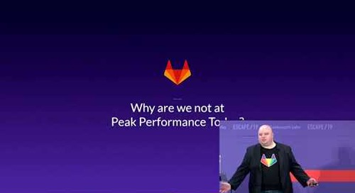 ESCAPE Conference 2019: 3 Keys to Making the Right Multi-Cloud Decisions -- Brendan O'Leary, Gitlab