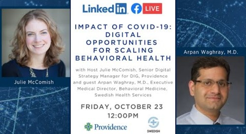Impact of COVID-19: Digital opportunities for scaling behavioral health