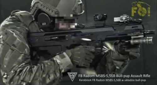 Frag Out! MSBS MSBS-5,56K & MSBS-5,56B Next Gen Assault Rifle