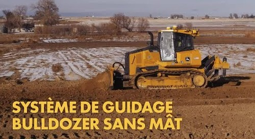 Trimble Earthworks Dozer - French
