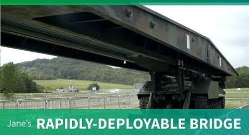 WFEL's rapidly deployable bridging range (DVD 2018)