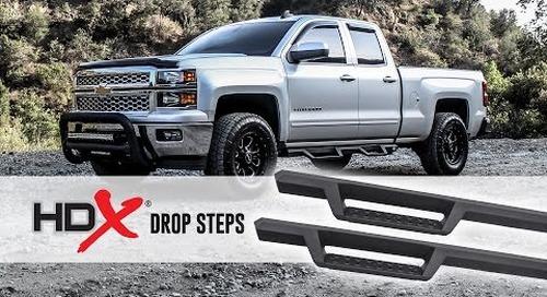 HDX Drop Steps Install Video (Part No. 56-13725)
