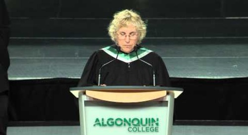 Spring Convocation 2014 - Roslyn Bern