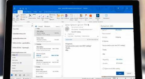 Tap the Power of Microsoft Dynamics 365 Directly from Microsoft Outlook