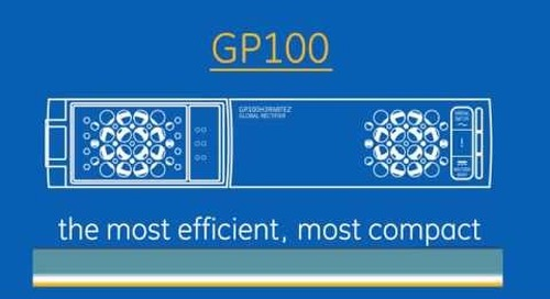 GP100 - Balanced Load. Unparalleled Density.
