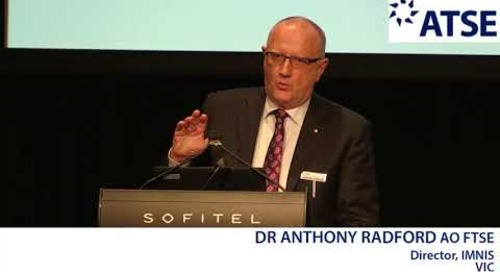 ATSE 2017 New Fellow: Dr Anthony Radford AO FTSE
