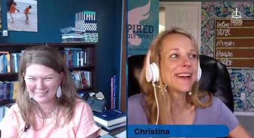 Live Chat with Christina Hergenrader on Inspired by the Holy Spirit: Four Habits for Faithful Living
