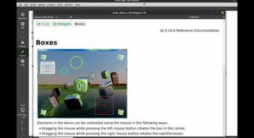 Introduction to Qt - Qt Creator IDE Overview and Examples {tutorial}