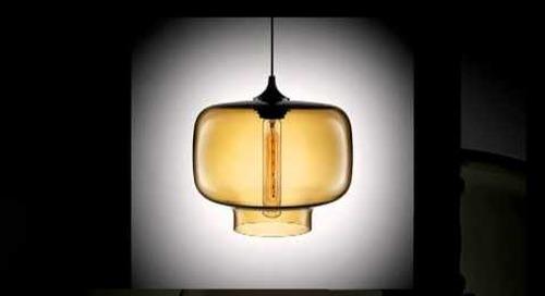 Modern Amber Pendant Lighting by Niche Modern