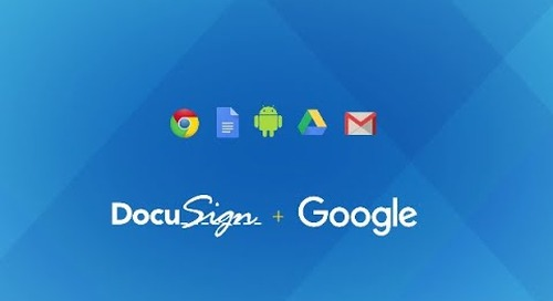 Create the Ultimate Digital Office with DocuSign for Google