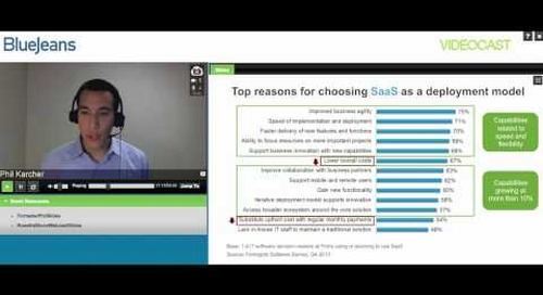 Why Choose SaaS and Cloud-based Video Conferencing?