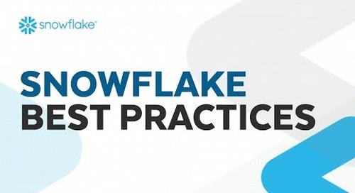 Webinar: Snowflake Best Practices