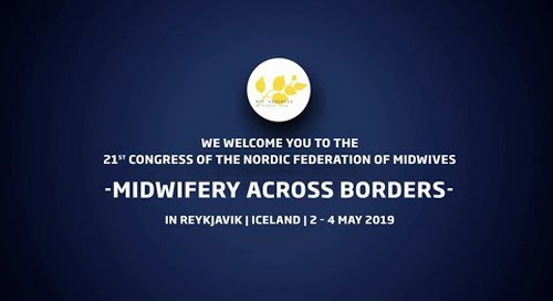 The 21st Congress of the Nordic Federation of Midwives - NJF congress 2019