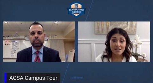 ACSA Campus Tour: Cindy Aguilar-Muñoz
