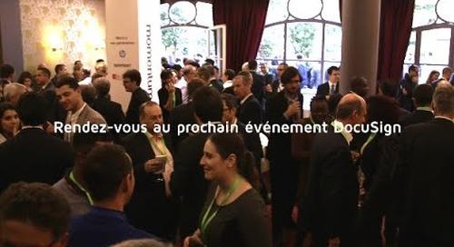 Retrouvez DocuSign Paris lors de nos prochains événements