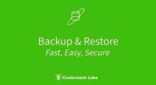 How Backup & Restore works under the hood