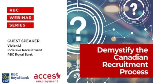 Demystify the Canadian Recruitment Process