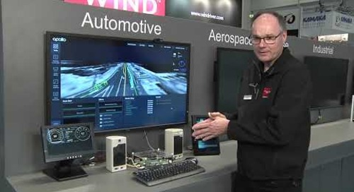 Automotive Demonstration of Wind River Helix Virtualization Platform
