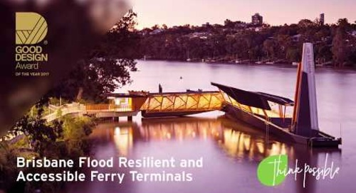 Think possible: Aurecon's Brisbane Ferry Terminals team
