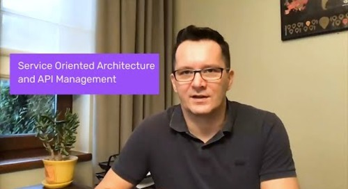 Service Oriented Architecture (SOA) and API Management