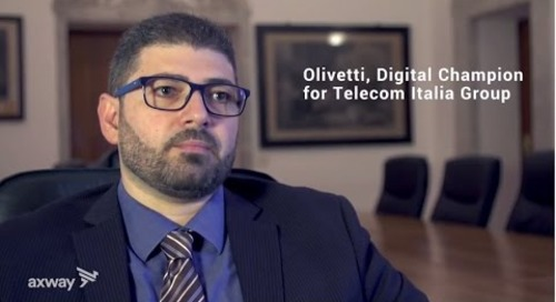 AMPLIFY, Full API Lifecycle Management at Olivetti
