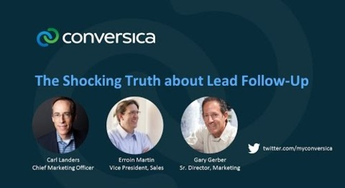 The shocking truth about lead follow-up