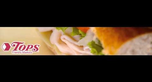 Tops Turkey Sub Promotion