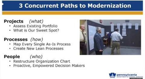 Doing More with Less - Modernizing your Capital Construction Program