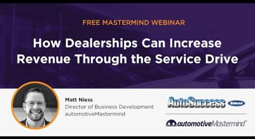 How Dealerships Can Increase Revenue Through the Service Drive