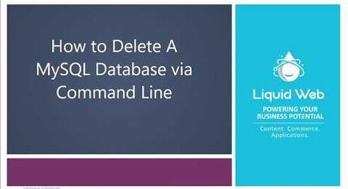 How to Delete A Database In MySQL/MariaDB