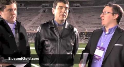 Post-Game Wrap —Notre Dame vs. Northwestern