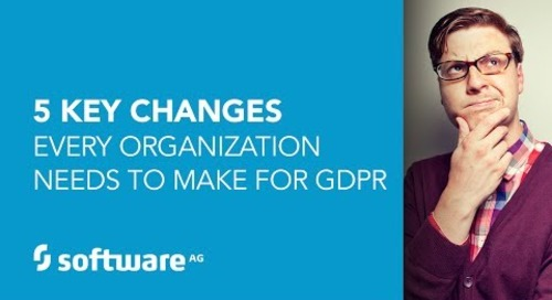 The 5 Key Changes Every Organization Needs to Make for GDPR