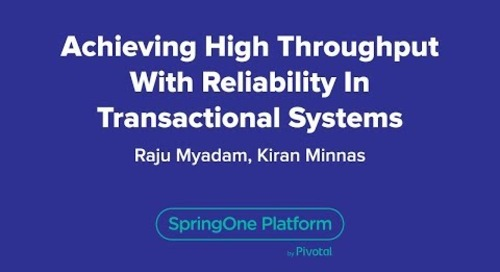 Achieving High Throughput with Reliability in Transactional Systems
