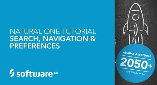 Natural ONE Tutorial - Search, Navigation & Preferences