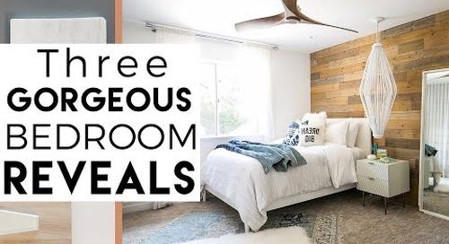 3 Cool Bedrooms | Interior Decorating | Del Mar Reveal #6