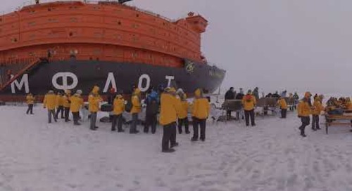North Pole: On the Top of the World (360° VR)