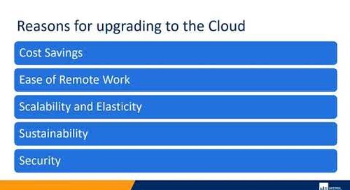 Reasons for Upgrading to the Cloud | Western Computer