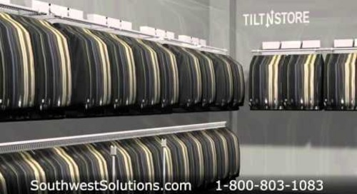 High Capacity Clothing Racks | Wall Mounted Garment Storage