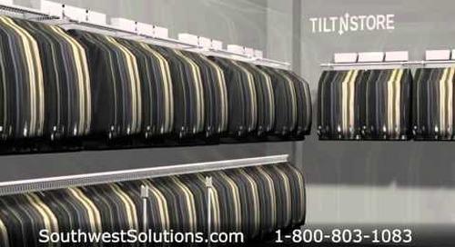 High Capacity Clothing Racks   Wall Mounted Garment Storage