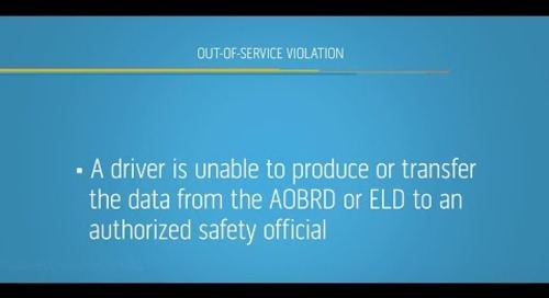 Roadside ELD Inspections