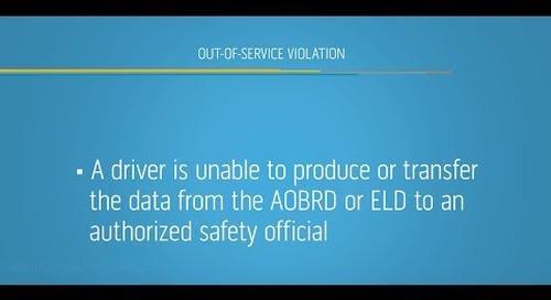 Roadside ELD Inspections