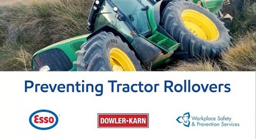 Farm Safety: Preventing Tractor Rollovers