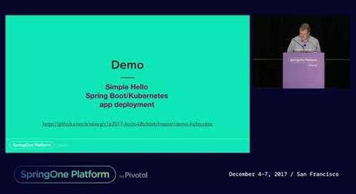 Deploying Spring Boot Apps on Kubernetes - Thomas Risberg