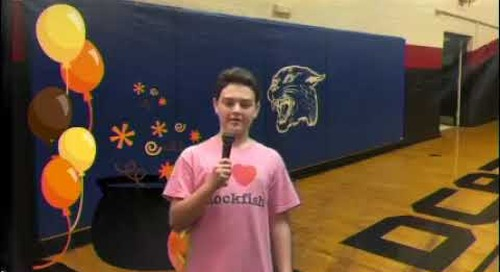 Announcements done the Wildcat way