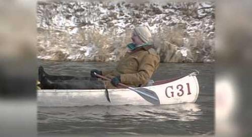 Winter Niobrara Canoeing