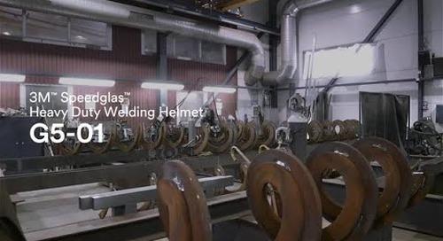 Introducing the new 3M™ Speedglas™ Heavy-Duty Welding Helmet G5-01.