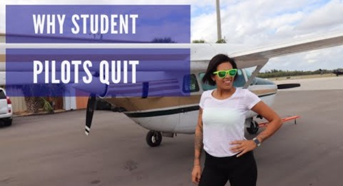 Why Student Pilots Quit Flight Training