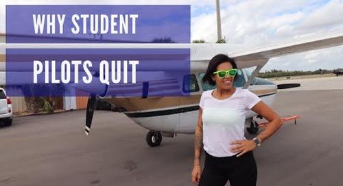 Why Student Pilots Quit Flight Training