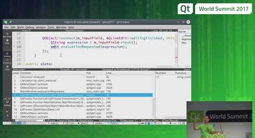 QtWS17 - Inside The Qt Object Model, Simon Hausmann, The Qt Company